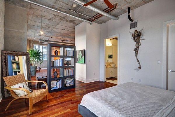 natural-colors-loft-bedroom-design