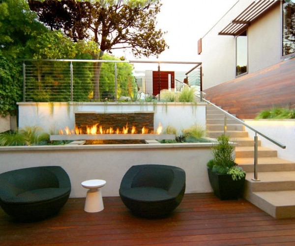 amazing-outdoor-living-area-and-lounge-space-with-black-sofa-furniture-wooden-floor-plan