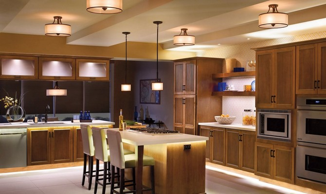 Room Lighting Ideas for Your Kitchen, Living Room and Bedroom