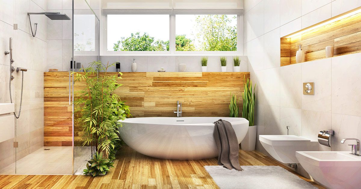 Biophilia in Bathrooms in Los Angeles