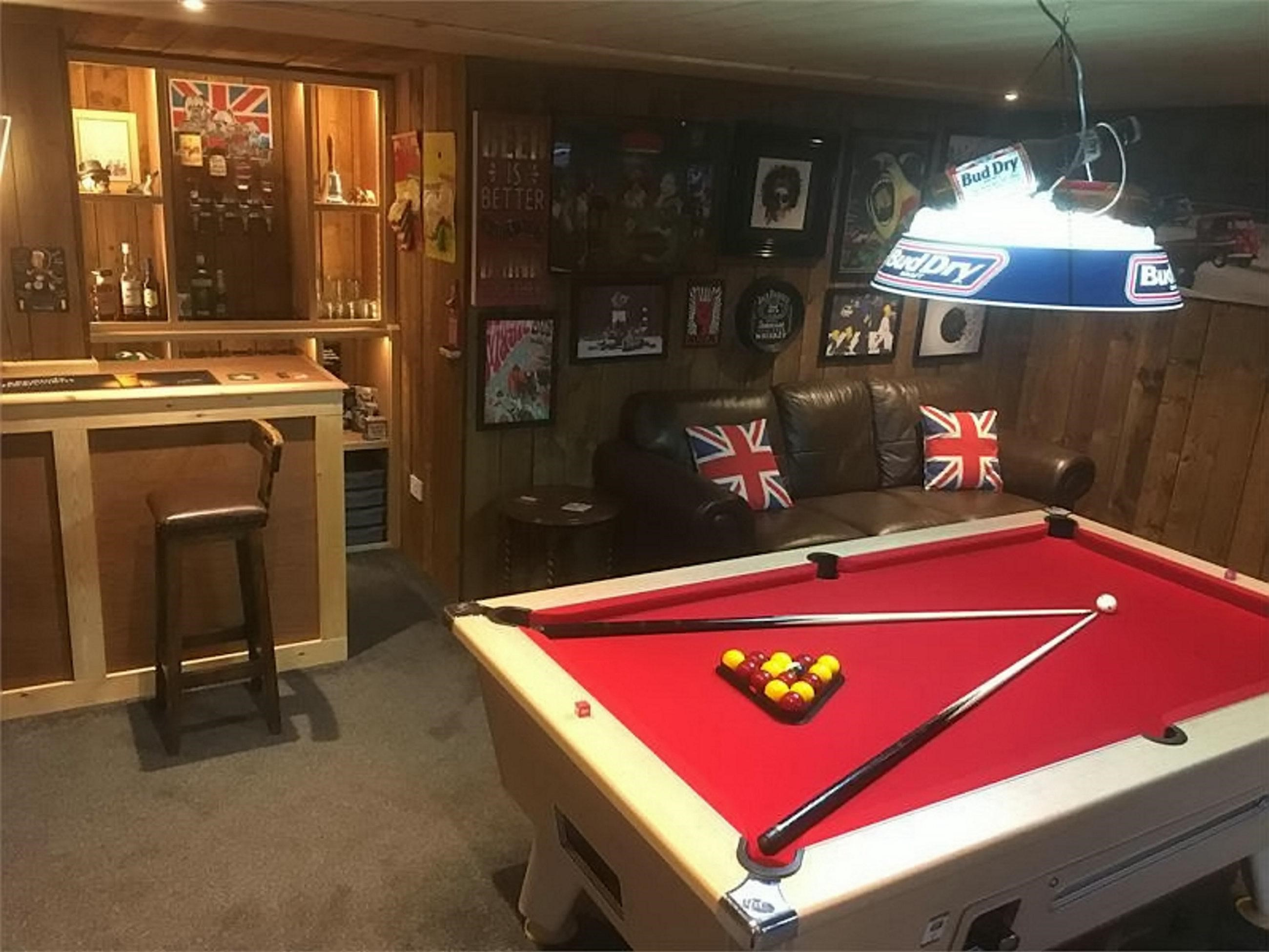 Good ideas for a Man Cave